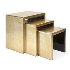 Gestel 3 Piece Nesting Table Set