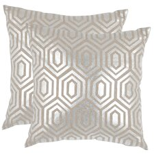 Sanders Linen Throw Pillow (Set of 2)