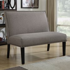 Kempston Nail Head Upholstered Banquette
