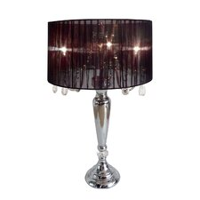 "Sutton-in-Ashfield 27.5"" H Table Lamp with Drum Shade"