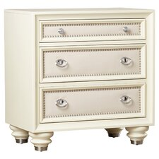 Augustina 3 Drawer Bachelor's Chest