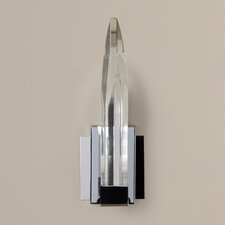 Nan 1 Light Wall Sconce in the Chrome Finish