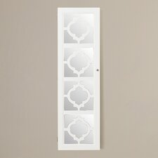 Riley Jewelry Armoire with Mirror