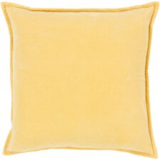 Askern Smooth Velvet Cotton Throw Pillow