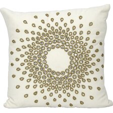 Gemstone Linen Throw Pillow