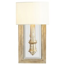 Abingdon 1 Light Wall Sconce in Aubergine