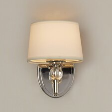 Gus Crystal Ball 1 Light Wall Sconce