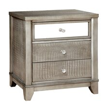 Whitworth 3 Drawer Nightstand