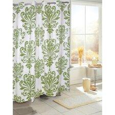 Leatherhead Plastic Shower Curtain