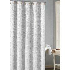 Lazuli Fabric Jacquard Shower Curtain