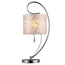 "Persimmon 20"" H Table Lamp with Drum Shade"
