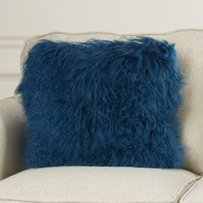 Greer Lamb Fur Throw Pillow