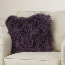 Greer Lamb Fur Throw Pillow