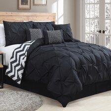 7 Piece Reversible Comforter Set