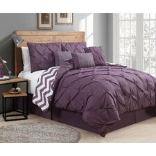 Germain 7 Piece Reversible Comforter Set