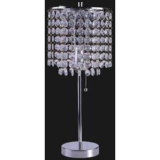 "Tallulah 19"" H Table Lamp with Novelty Shade"