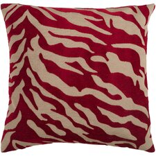 Coen Eye-Catching Zebra Throw Pillow