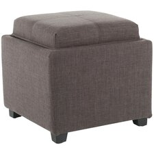 Spacey Single Tray Storage Ottoman