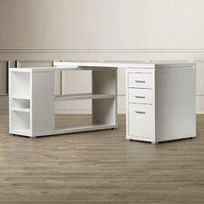 Charisse L-Shaped 3 Drawer Corner Desk
