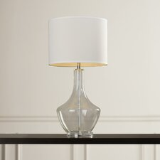 "Jollain 34.5"" H Table Lamp with Drum Shade"