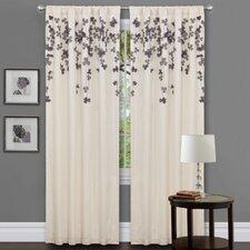 Avelines Rod Pocket Light-Filtering Single Curtain Panel