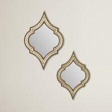 Micheroux 2 Piece Henley Wall Mirror Set