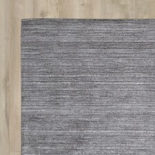 Wimbledon Handmade Mineral Graphite Area Rug