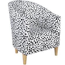 Beckinsale Polka Dot Tub Chair
