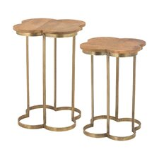 Oliver 2 Piece End Table Set