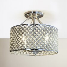 Russell 4 Light Semi Flush Mount