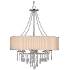 Custinne 5 Light Drum Chandelier