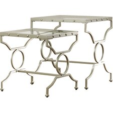 Rhiannon 2 Piece Nesting Tables