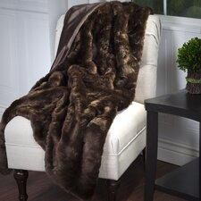 Oliver Faux Fur Throw Blanket