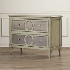 Luton Mirrored Front 2 Drawer Chest