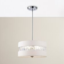 Lonie 3 Light Drum Pendant