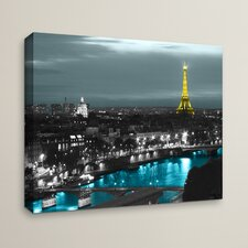 'Paris' by Revolver Ocelot Photographic Print on Wrapped Canvas