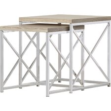 Oliver 2 Piece Nesting Table Set