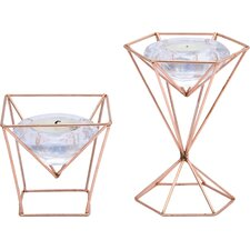 Lieberman Glass Tealight Holder