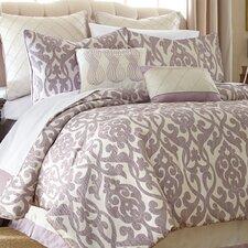 Ottenburg 8 Piece Comforter Set in Lavender & Ivory