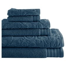 6 Piece Cotton Towel Set