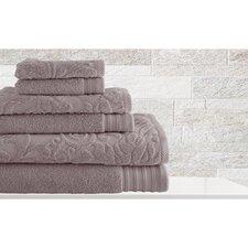 6 Piece Cotton Towel Set