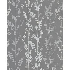 "Magdalena 33' x 20"" Floral and Botanical Wallpaper"