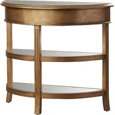 Jean Round Bevel Console Table