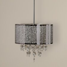 Watermill 4 Light Drum Chandelier