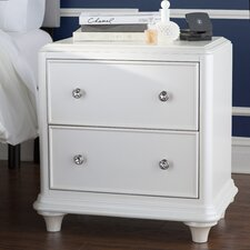 Barbara 2 Drawer Nightstand