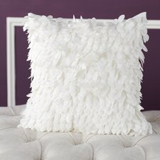 Luanna Ruffle Synthetic Throw Pillow