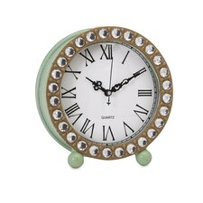 Jeweled Table Clock