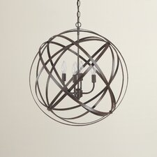 Gaia 4 Light Globe Pendant