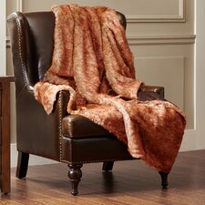 Walcourt Faux Fur Throw Blanket