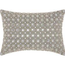 Marble Beads Polyester Lumbar Pillow